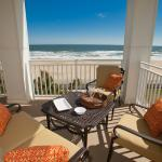 An oceanfront condo view