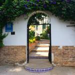 Eingang des Hostals