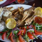 Fish platter for two to share