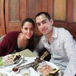 foto del restaurant y de nuestro pulpo al olivo