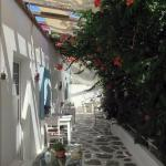 Patio of Guest House, Mykonos