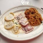 Trío de pastas fuera de temporada alta, lo mejor los espaguetis