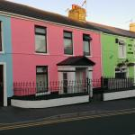 I drove straight past it due to the recent paint job. The road now looks like one of the trendy