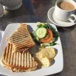 Tuna and cheese toastie - perfect every time :)