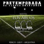 Preparate para comenzar el nuevo campeonato en Hotel Los Arcos