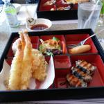 Shrimp Tempura Bento Box (lunch special)