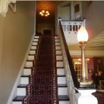 Staircase to the guest rooms