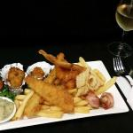Voyager Seafood Plate