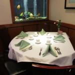 Dining Rm. Corner w. Fish Tank