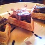 WAFFLE AND PORK BELLY