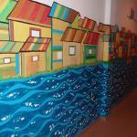 Mural di dinding koridor