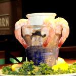 Shrimp Cocktail at The Barn