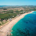 Vista aerea del Camping Village Baia Blu La Tortuga
