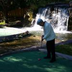 94 year old youngsters can still putt around!