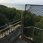 Stairs and view