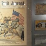 Rivista dell'epoca con la contesa tra Peary e Scott sulla conquista del Polo Nord