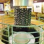 Die Uranwürfel des Reaktors (Nachbau)