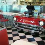 57 Chevy counter