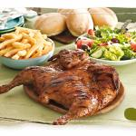 Nando's Full Chicken Family Meal with Chips and Rolls