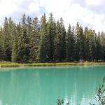 Banff River, Three blocks away