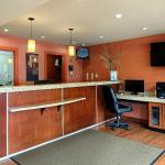 Front Desk and Business stations