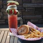 Try the Torge's Burger with our Ultimate Bloody Mary