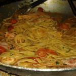 Abbiamo mangiato spaghetti come in Italia ottimi e al dente...viva Christof