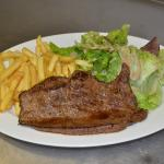 Le steak de Boeuf Charolais
