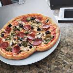 Pizza Dello Chef!! Massa finissima, crocante !!!