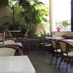 Alfresco seating