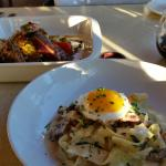 Grilled Ahi Tuna and Black Pepper Pappardelle