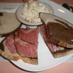 Corn Beef/pastrami sanwich