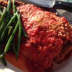 Chicken parmesan (giant portion)