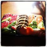 Take away sushi mjam mjam!