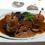 burger de st jacques et foie gras !!