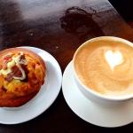 Latte & Muffin Cooked in Store