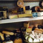 Great range of Irish farmhouse cheeses