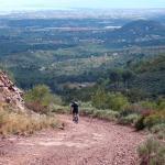 Mountain biking in Valencia