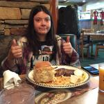 Big country breakfast...2 thumbs up.