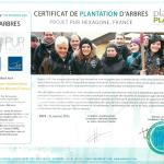 Plant for the Planet 2015 - Projet Fôret nourricière - Natreeve Tournus