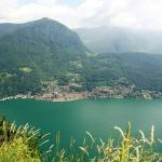 Tranquil view of Lake Como