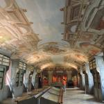 Library ceiling is beautifully painted