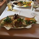 Abendessen nach Bootsfahrt auf der Havel