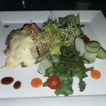 Salmon Mushroom appetizer
