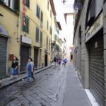 Джильо: улица, где расположены апартаменты