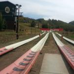 Four different tracks for the Alpine slide