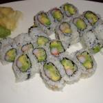 California Roll Dinner