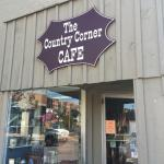 Country Corner Cafe outside