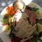 Eddie Z chef salad ! Great