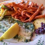 Pesto whitefish